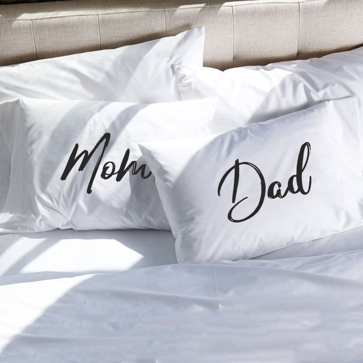 Couple Pillowcases Mom And Dad